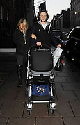 11.NOVEMBER.2010. LONDON<br /> <br /> SAM TAYLOR WOOD AND FIANCE AARON JOHNSON WALKING THROUGH MAYFAIR WITH BABY DAUGHTER WYLDA RAE.<br /> <br /> BYLINE: EDBIMAGEARCHIVE.COM<br /> <br /> *THIS IMAGE IS STRICTLY FOR UK NEWSPAPERS AND MAGAZINES ONLY*<br /> *FOR WORLD WIDE SALES AND WEB USE PLEASE CONTACT EDBIMAGEARCHIVE - 0208 954 5968*