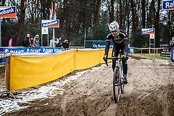 Thalita de Jong, NK Veldrijden / Dutch Championship Cyclocross at Sint Michielsgestel, Noord-Brabant, The Netherlands, 8 January 2017. Photo by Pim Nijland / PelotonPhotos.com | All photos usage must carry mandatory copyright credit (Peloton Photos | Pim Nijland)