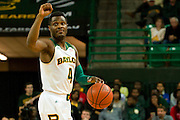 WACO, TX - DECEMBER 18: Gary Franklin #4 of the Baylor Bears brings the ball up court against the Northwestern State Demons on December 18 at the Ferrell Center in Waco, Texas.  (Photo by Cooper Neill/Getty Images) *** Local Caption *** Gary Franklin