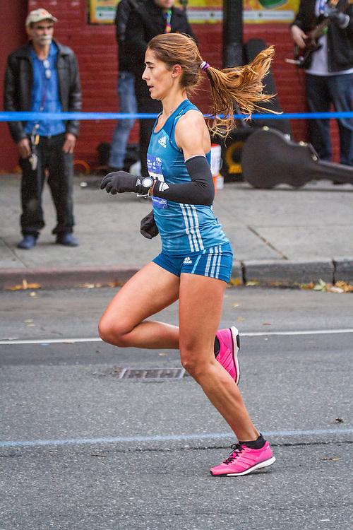 NYC Marathon, Moreira, mile 5
