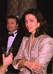 MR & MRS BOB MANOUKIAN, he is involved with a dispute with Prince Jeffri, brother of the Sultan of Brunei,  at a ball in London on 14th February 1998.<br /> MFM 8