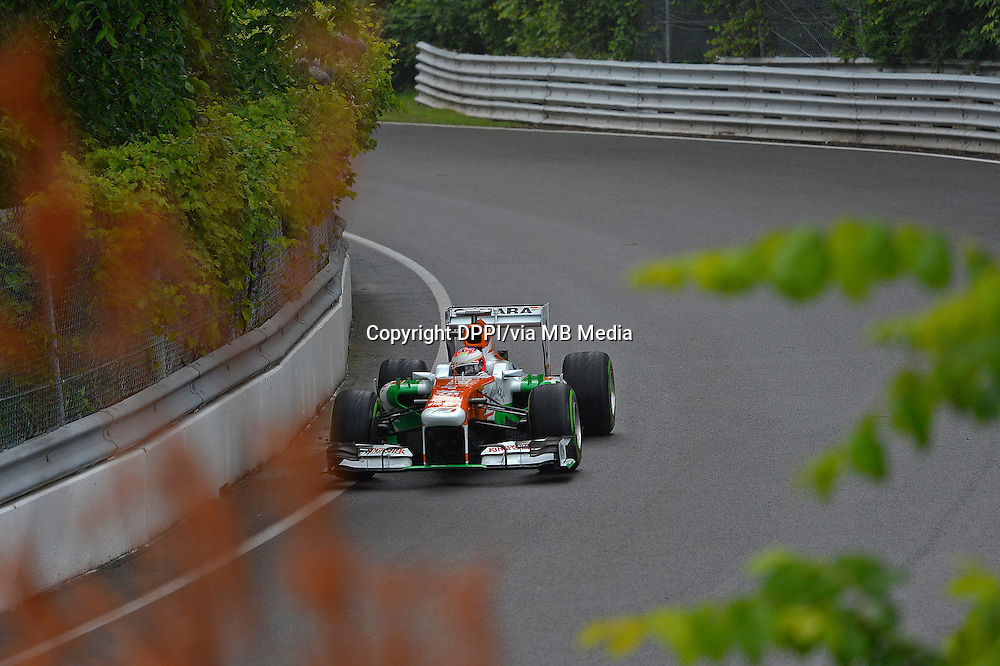 MOTORSPORT - F1 2013 - GRAND PRIX OF CANADA - MONTREAL (CAN) - 07 TO 09/06/2013 - PHOTO ERIC VARGIOLU / DPPI DI RESTA PAUL (GBR) - FORCE INDIA VJM06 - ACTION