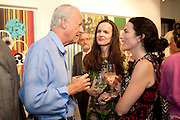 GALEN WESTON; BETTINA VON HASE; DOROTHEA JAFFE, Galen and Hilary Weston host the opening of Beatriz Milhazes Screenprints. Curated by Iwona Blazwick. The Gallery, Windsor, Vero Beach, Florida. Miami Art Basel 2011