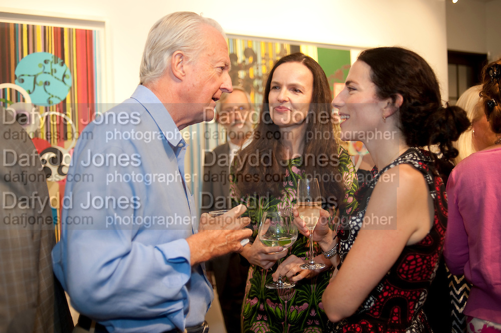 GALEN WESTON; BETTINA VON HASE; DOROTHEA JAFFE, Galen and Hilary Weston host the opening of Beatriz Milhazes Screenprints. Curated by Iwona Blazwick. The Gallery, Windsor, Vero Beach, Florida. Miami Art Basel 2011