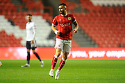 Bailey Wright (5) of Bristol City during the EFL Sky Bet Championship match between Bristol City and Bolton Wanderers at Ashton Gate, Bristol, England on 26 September 2017. Photo by Graham Hunt.