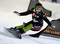 10-10-2010 SNOWBOARDEN: LG FIS WORLDCUP: LANDGRAAF<br /> First World Cup parallel slalom of the season / KULESHOVA Alena RUS<br /> ©2010-WWW.FOTOHOOGENDOORN.NL