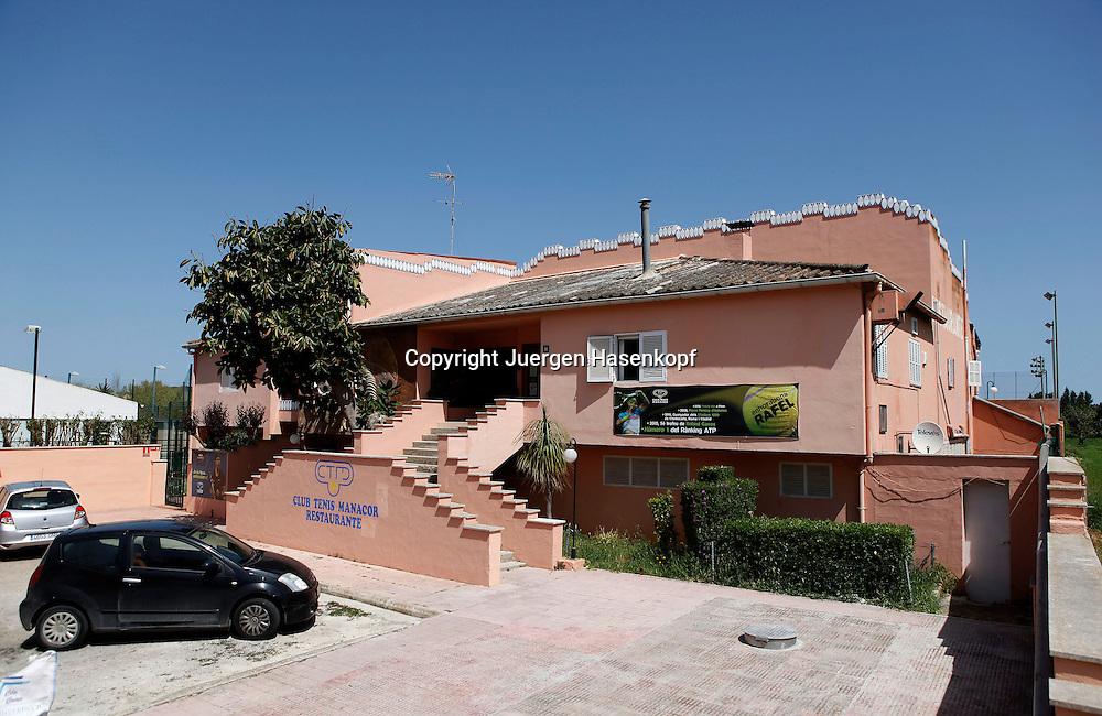 Manacor,Mallorca,Spanien,Europa, Tennis Club Manacor ,Club Tenis Manacor ist der Heimatclub von Rafael Nadal, Querformat,
