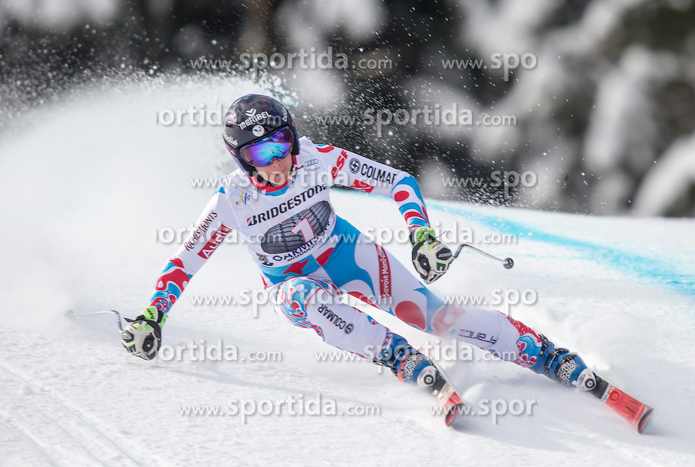 06.03.2015, Kandahar, Garmisch Partenkirchen, GER, FIS Weltcup Ski Alpin, Abfahrt, Damen, 1. Trainingslauf, im Bild Marie Jay Marchand-Arvier (FRA) // Marie Jay Marchand-Arvier of France during 1st training run for the ladie's Downhill of the FIS Ski Alpine World Cup at the Kandahar course, Garmisch Partenkirchen, Germany on 2015/03/06. EXPA Pictures © 2015, PhotoCredit: EXPA/ Johann Groder