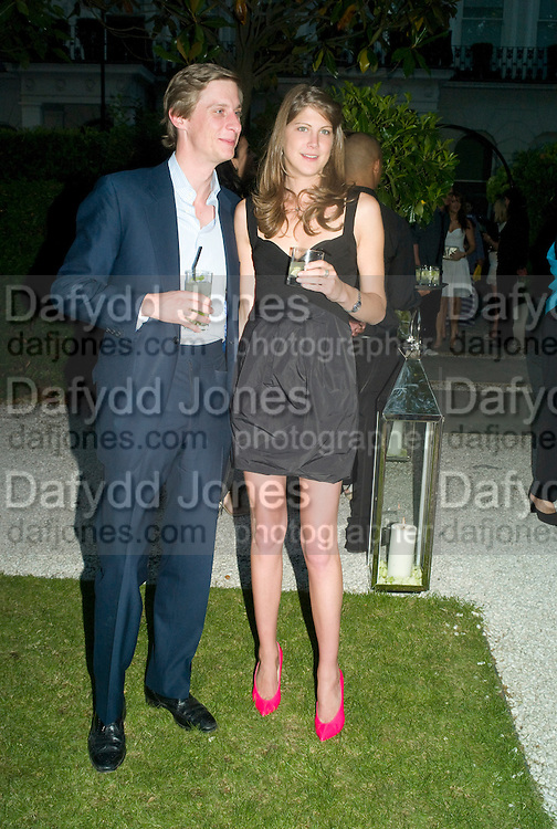 JAKE ASTOR ; PRINCESS FLORENCE VON PREUSSEN. n. Tatler Summer Party. The Hempel. Craven Hill Gdns. London. 25 June 2008 *** Local Caption *** -DO NOT ARCHIVE-© Copyright Photograph by Dafydd Jones. 248 Clapham Rd. London SW9 0PZ. Tel 0207 820 0771. www.dafjones.com.