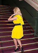 KATHERINE JENKINS, Press night of Cirque du Soleil's new show 'Totem' at The Royal Albert Hall.  London. January 5, 2011<br /> <br /> -DO NOT ARCHIVE-© Copyright Photograph by Dafydd Jones. 248 Clapham Rd. London SW9 0PZ. Tel 0207 820 0771. www.dafjones.com.