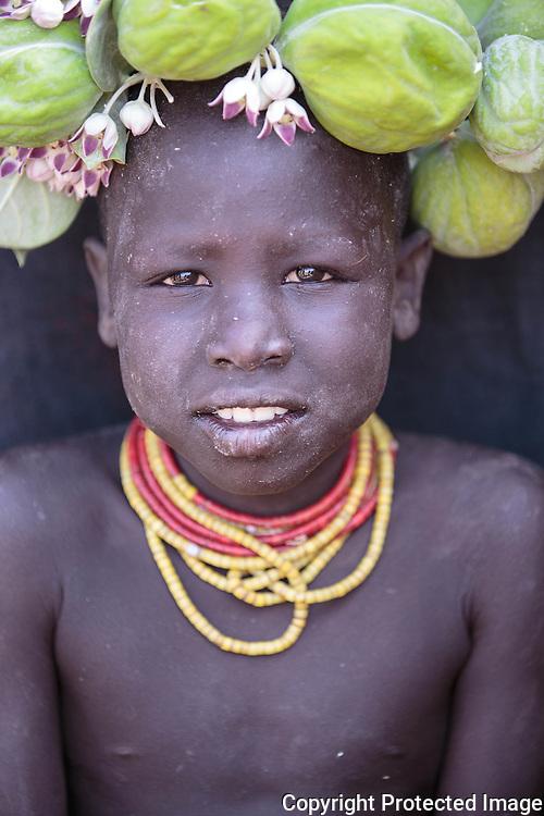 Ethiopia, Omo Valley, Karo Tribe, Koncho Village