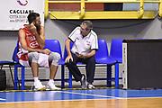 Luigi Datome, Sandro Senzameno<br /> Raduno Nazionale Maschile Senior<br /> Allenamento mattina<br /> Cagliari, 04/08/2017<br /> Foto Ciamillo-Castoria/ A. Scaroni
