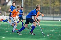 BLOEMENDAAL - tijdens de hoofdklasse competitiewedstrijd hockey jongens B , Bloemendaal JB1-Breda JB1 (3-2)  , COPYRIGHT KOEN SUYK