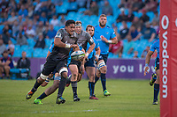 PRETORIA, SOUTH AFRICA - MAY 06: Pete Samu of the Crusaders scores a try during the Super Rugby match between Vodacom Bulls and Crusaders at Loftus Versfeld on May 06, 2017 in Pretoria, South Africa.<br /> (Photo by Anton Geyser/Gallo Images)