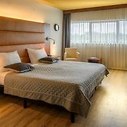 Interieurfotografie Van der Valk Hotel Blijdorp. Luxe hotelkamer. Fotografie van interieur, sanitair, hotelkamers.<br /> Interior photography luxury hotel. Rooms, bathrooms.
