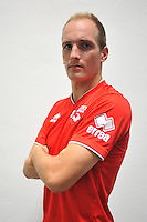 Romain ELIE - 16.09.2014 - Photo officielle Nimes - Ligue 2 2014/2015<br /> Photo : Icon Sport