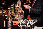 A cocktail station at the SOPAC 2016 Gala.