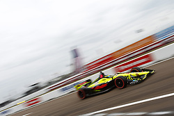 March 10, 2018 - St. Petersburg, Florida, United States of America - March 10, 2018 - St. Petersburg, Florida, USA: SŽbastien Bourdais (18) attempts to qualify for the Firestone Grand Prix of St. Petersburg at Streets of St. Petersburg in St. Petersburg, Florida. (Credit Image: © Justin R. Noe Asp Inc/ASP via ZUMA Wire)