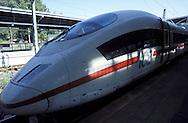 DEU, Germany, Cologne, ICE Intercity Express train at the station Cologne-Deutz.....DEU, Deutschland, Koeln, ICE im Bahnhof Koeln-Deutz...