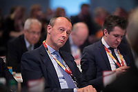 DEU, Deutschland, Germany, Leipzig, 22.11.2019: Friedrich Merz (CDU) beim Bundesparteitag der CDU in der Messe Leipzig.