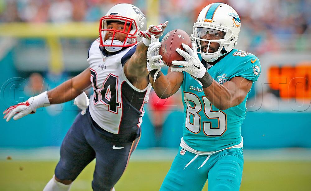 as the Miami Dolphins host the New England Patriots at Sun Life Stadium on Sunday, January 3, 2016