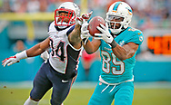 as the Miami Dolphins host the New England Patriots at Sun Life Stadium on Sunday, January 3, 2016
