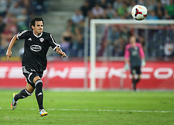 06.08.2014, Red Bull Arena, Salzburg, AUT, UEFA CL Qualifikation, FC Red Bull Salzburg vs Qarabag FK, dritte Runde, Rueckspiel, im Bild Danilo Leandro Dias, (Qarabag FK, #11) //during UEFA Champions League Qualifier second leg 3rd round match between FC Red Bull Salzburg vs Qarabag FK at the Red Bull Arena in Salzburg, Austria on 2014/08/06. EXPA Pictures © 2014, PhotoCredit: EXPA/ Roland Hackl