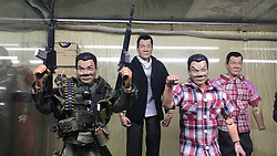 May 20, 2017 - Pasay City, Philippines - Dennis Mendoza is the popular maker of Duterte dolls. His admiration to President Rodrigo Duterte drives him to make dolls in honer to him. (Credit Image: © Sherbien Dacalanio/Pacific Press via ZUMA Wire)