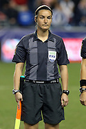 24 October 2014: Assistant Referee Marie-Josee Charbonneau (CAN). The United States Women's National Team played the Mexico Women's National Team at PPL Park in Chester, Pennsylvania in a 2014 CONCACAF Women's Championship semifinal game, which serves as a qualifying tournament for the 2015 FIFA Women's World Cup in Canada. The United States won the game 3-0. With the victory the U.S. advanced to the championship game and qualified for next year's Women's World Cup.