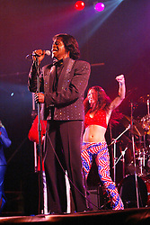 James Brown plays in King Tut's Tent on Saturday 9th July, 2005 at the two-day T in the Park festival, at Balado, Kinross-shire, Scotland..