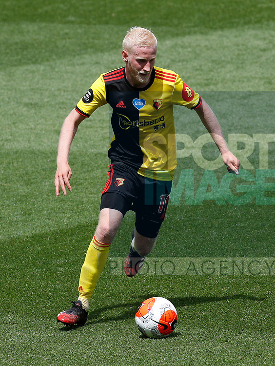 Will Hughes of Watford during the Premier League match at Vicarage Road, Watford. Picture date: 20th June 2020. Picture credit should read: Darren Staples/Sportimage