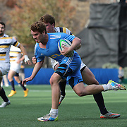 BERKELEY, CA - NOVEMBER 08:  Niall Barry #11 of UCLA runs with the ball during the PAC Rugby 7's Championship between UCLA and California at Witter Rugby Field at the University of California on November 8, 2015 in Berkeley, California. California won the match by a score of 17-5. (Photo by Alex Menendez/Getty Images) *** Local Caption *** Niall Barry