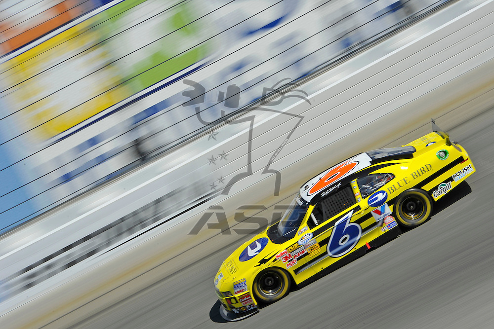 Joliet,Il - Sep 15, 2012: Ricky Stenhouse, Jr. (6) during race action for the Dollar General 300 at Chicagoland Speedway in Joliet, Il.