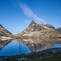 Power lines in Koldedalen