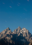 Moonlight on the Catheral Group, Grand Tetons National Park, Jackson, Wyoming