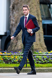 © Licensed to London News Pictures. 30/01/2018. London, UK. Defence Secretary Gavin Williamson arriving in Downing Street to attend a Cabinet meeting this morning. Photo credit : Tom Nicholson/LNP