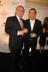 Left to right, FRANK LAMPARD and ALAN CURBISHLEY at the Berkeley Square End of Summer Ball in aid of the Prince's Trust held in Berkeley Square, London on 27th September 2007.<br />