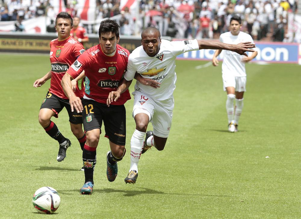Deportivo Cuenca Vs Liga De Quito Santiago Fernandez