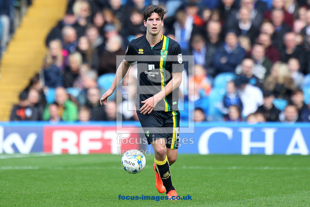 Timm Klose of Norwich in action during the Sky Bet Championship match at Hillsborough, Sheffield<br /> Picture by Paul Chesterton/Focus Images Ltd +44 7904 640267<br /> 04/03/2017