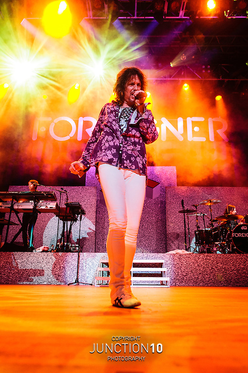 Foreigner perform at the Civic Hall, Wolverhampton, United Kingdom<br /> Picture Date: 15 April, 2014