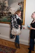 LAYLA ANDREWS; , Mat Collishaw, Tracey Emin & Paula Rego: At the Foundling. Foundling Museum. Brunswick Square. London. 12 February 2010.