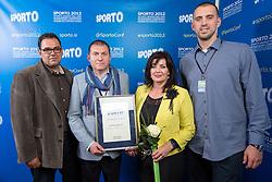 Dalmacijavino during Sporto 2012 Gala Dinner and Awards ceremony at sports marketing and sponsorship conference Sporto 2012, on November 26, 2012 in Hotel Slovenija, Congress centre, Portoroz / Portorose, Slovenia. (Photo By Vid Ponikvar / Sportida.com)