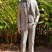Henry Ford Statue at Edison and Ford Winter Estates in Fort Myers, Florida<br />