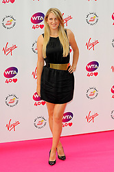Wimbledon Party<br /> Victoria Azarenka attends the annual pre-Wimbledon party at Kensington Roof Gardens,<br /> London, United Kingdom<br /> Thursday, 20th June 2013<br /> Picture by Chris  Joseph / i-Images