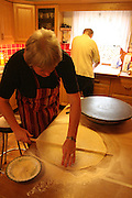 Baking of the typical flat bread has rich traditions in Norway. The homemade one is specially important for christmas, easter and big occations.