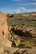 Chaco ruins in the Chaco culture National Park, New mexico, USA