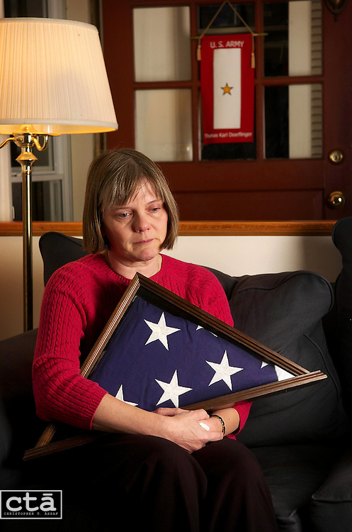 It was Veteran's day when Lee Ann Doerflinger, of Silver Spring, lost her son as he fought in Iraq. Thomas Doerflinger was killed in action on Nov. 11, 2004, while serving in the battle of Mosul, Iraq.