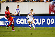 July 18 2009: Heath Pearce of USA during the game between USA and Panama. The United States defeated Panama 2-1 in added extra time in a CONCACAF Gold Cup quarter-final match at Lincoln Financial Field in Philadelphia, Pennsylvania.