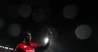 Rugby Union - 2017 British & Irish Lions Tour of New Zealand - Second Test: New Zealand vs. British & Irish Lions<br /> <br /> Maro Itoje of The British and Irish Lions waves as he leaves the Westpac Stadium, Wellington.<br /> <br /> COLORSPORT/LYNNE CAMERON