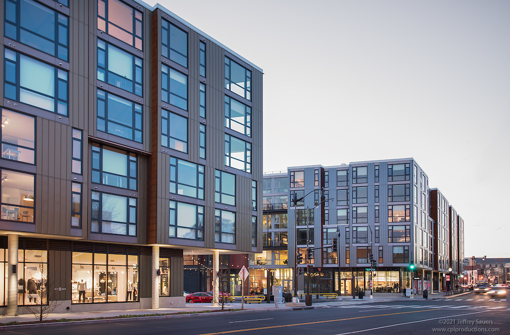 DC Architectural Image Of The Shay Apartments By Jeffrey Sauers Commercial Photographics Photo